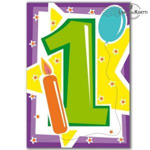 onnittelut 1-vuotiaalle
