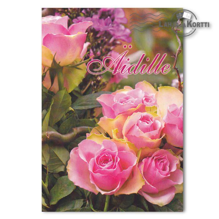 Äidille Pinkit ruusut 2-os