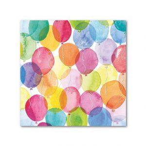 Aquarell Balloon Lautasliinat