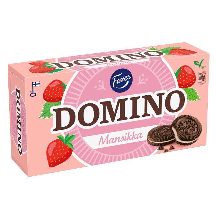 Domino Mansikka -keksit