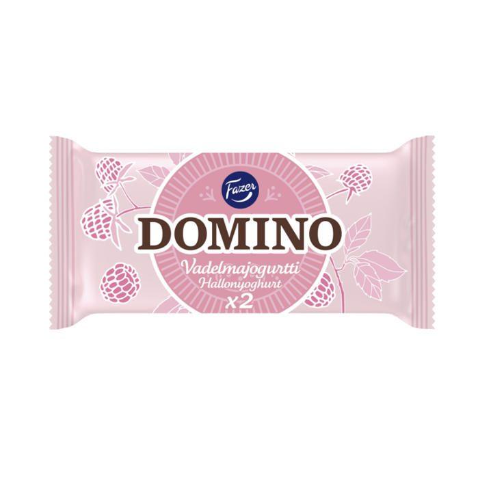 Domino Vadelmajogurtti 2-pack