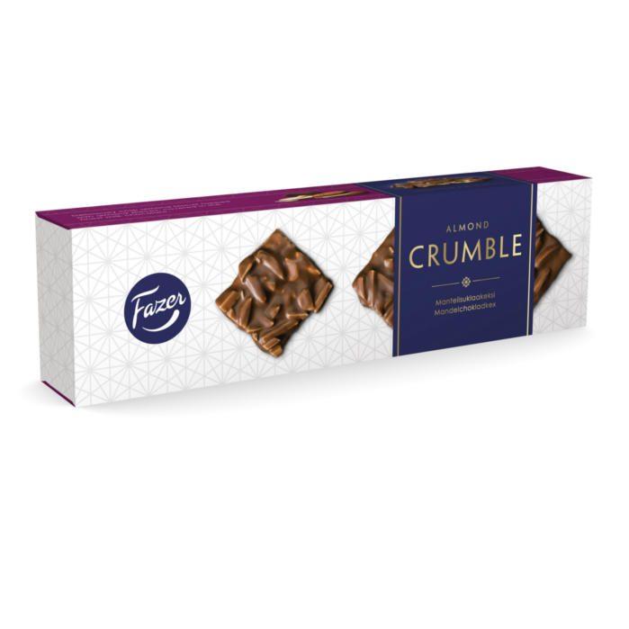 Almond crumble Mantelikeksi