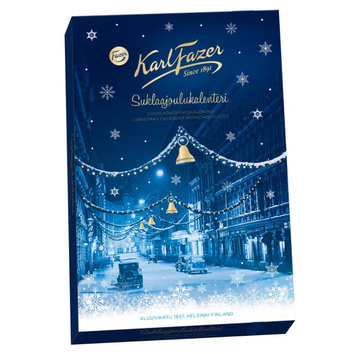 suklaa joulukalenteri 2018 Fazerin Suklaajoulukalenteri | Lahja ja Kortti suklaa joulukalenteri 2018