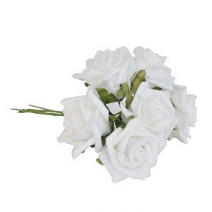 Finnmari Ruusukimppu valkoinen