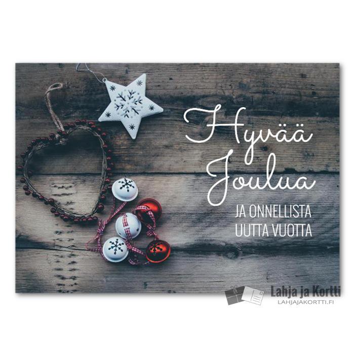 Hyvää joulua Jouluiset koristeet
