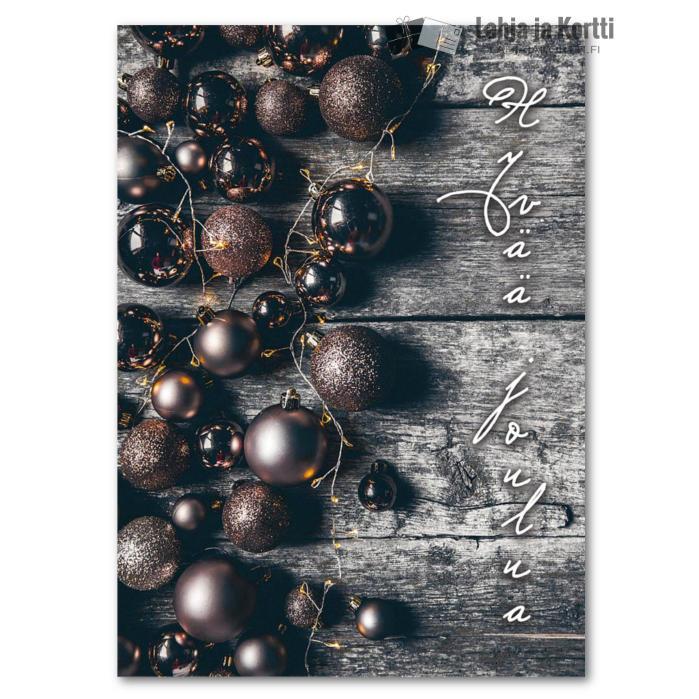 Hyvää joulua Joulupalloja