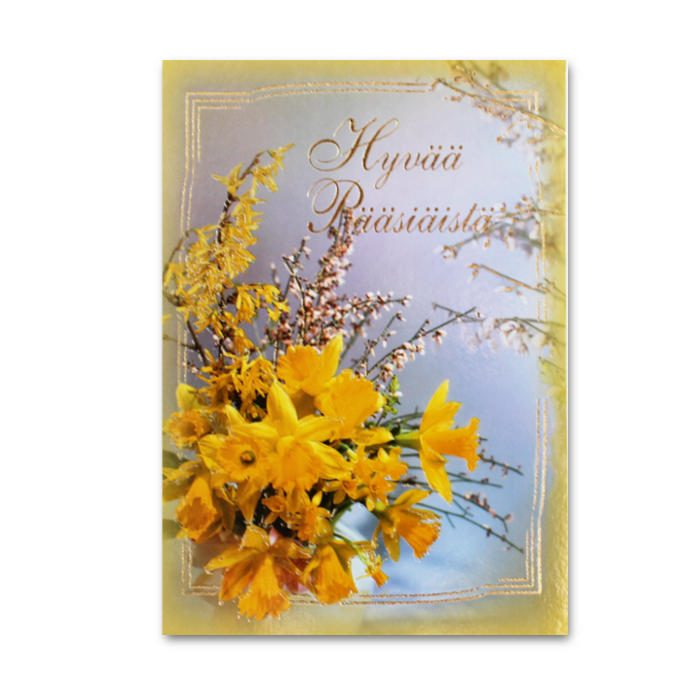 Hyvää Pääsiäistä Narsissikimppu
