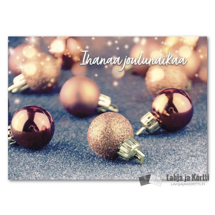 Ihanaa joulunaikaa Joulupallot