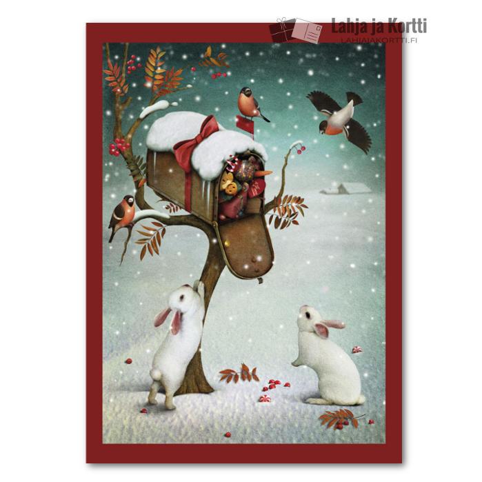 Jouluherkut postilaatikossa