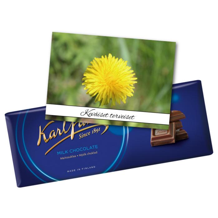 Keväiset terveiset suklaalla
