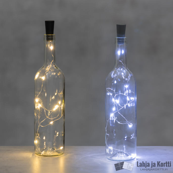 Led-valot pulloon