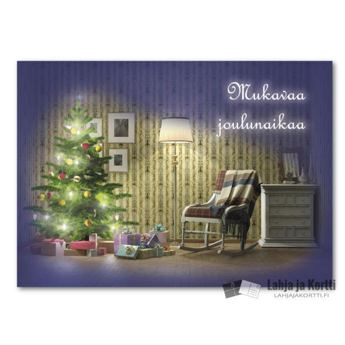 Mukavaa joulunaikaa Kuusi ja lahjat