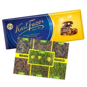 Pääsiäistervehdys suklaalla
