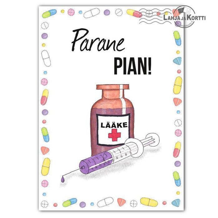 Parane pian lääkettä