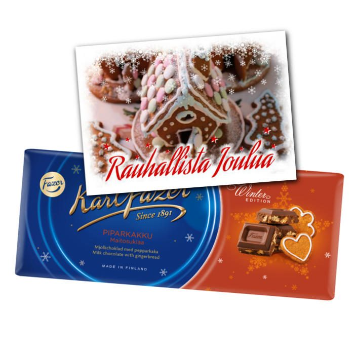 Piparisen suklaista joulua