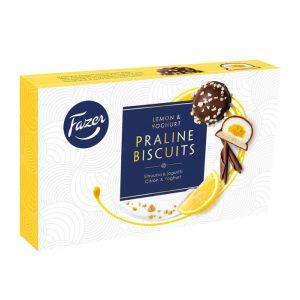 Praline Biscuit Sitruuna & Jogurtti leivoskeksit