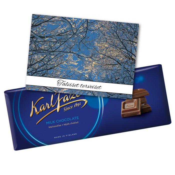 Talviset terveiset suklaalla