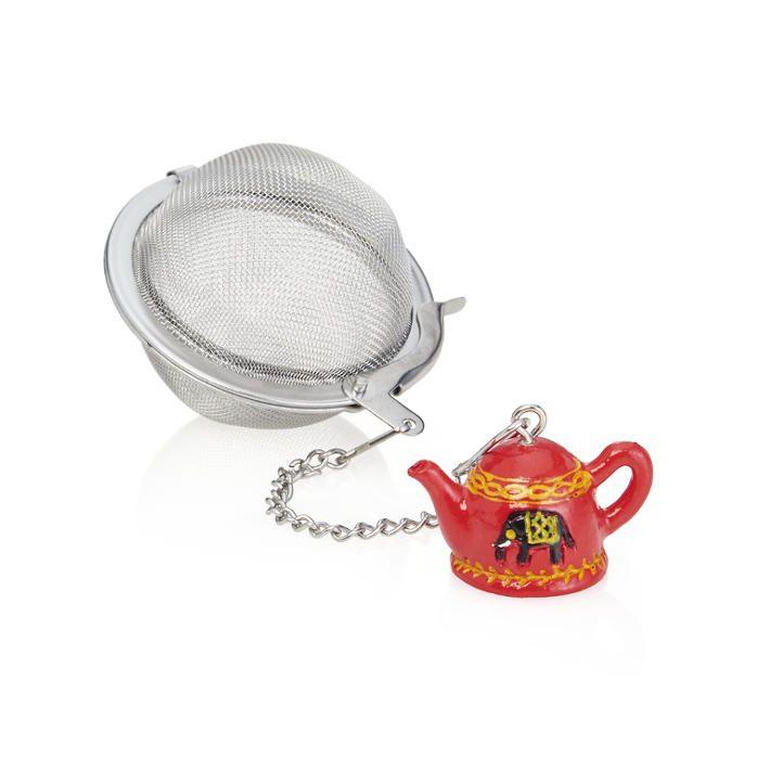 Teesuodin Teekannukoristeella