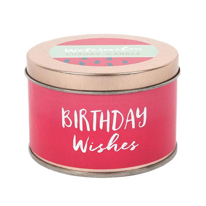 Tuoksukynttilä Birthday