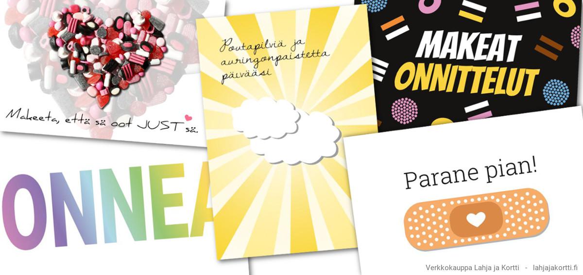 Uusi postikortteja