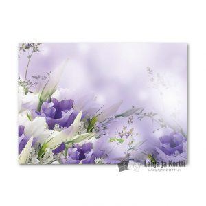 Valkovioletti kukkakimppu