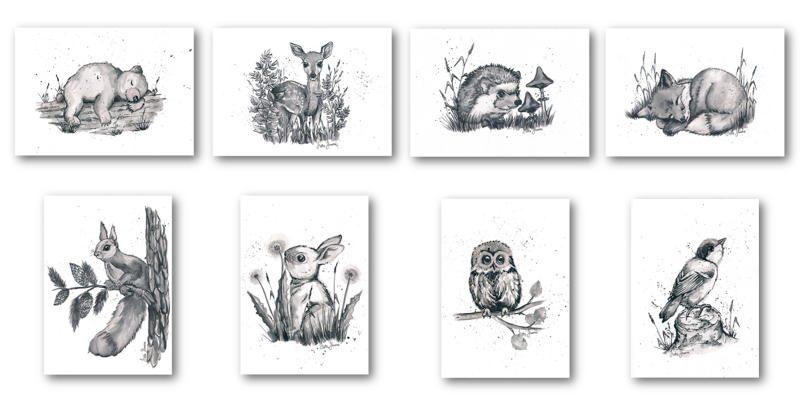 Uudet eläinkortit